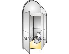 Универсальная кабина для туалета