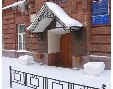 № 21. Козырек ажурный, кованый с покрытием из поликарбоната
