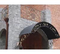 № 39. Козырек кованый, ограждения, решетки