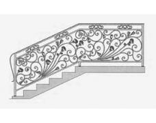 Перила лестничные,цена от 10000 тыс.руб.за кв.метр