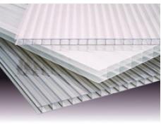 Сотовый поликарбонат прозрачный 4 и 6 мм