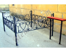 Кованая оградка тип 311. стоимость договорная от 5000 руб. м.п.