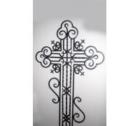 Крест кованый тип 031. от 25000 руб.