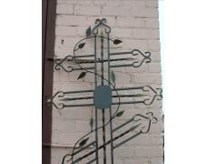 Крест кованый тип 012. от 25000 руб.