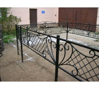 Кованая оградка тип 310. стоимость договорная от 5000 руб. м.п.