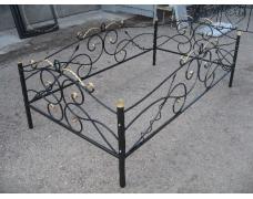 Кованая оградка тип 211. стоимость договорная от 5000 руб. м.п.