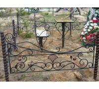 Кованая оградка тип 312. стоимость договорная от 4000 руб. м.п.