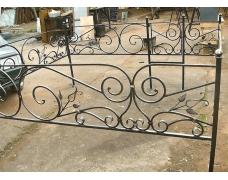 Кованая оградка тип 111. стоимость договорная от 4500 руб. м.п.
