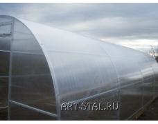 Готовая теплица длина 8 метров. Поликарбонат толщиной 6 мм