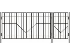 Ворота  ДАЧНЫЕ ТИП – 1