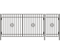 Ворота  ДАЧНЫЕ ТИП – 2