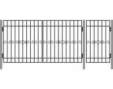 Ворота  ДАЧНЫЕ ТИП – 4