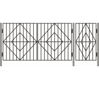 Ворота  ДАЧНЫЕ ТИП – 5