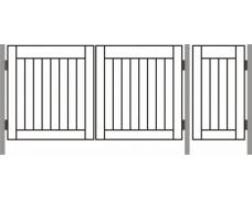 Ворота  ДАЧНЫЕ ТИП – 6