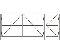 Ворота  ДАЧНЫЕ ТИП – 8