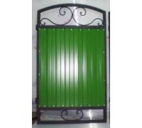 Калитка с проф. листом зеленого цвета