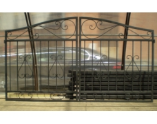 Ворота кованые для проема шириной 3.0 м
