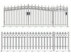 Ворота кованые 5