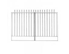 Ворота кованые 6