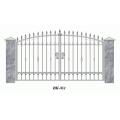 Ворота кованые (типовой эскиз № 1)