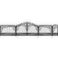 Ворота кованые (типовой эскиз № 2)