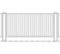 Забор кованый 6
