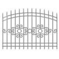 Забор кованый(типовой эскиз № 2)